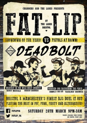 Fat Lip Bristol vs Deadbolt Manchester - Red Cardinal Music