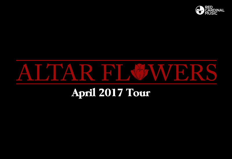 Altar Flowers April 2017 Tour - Red Cardinal Music
