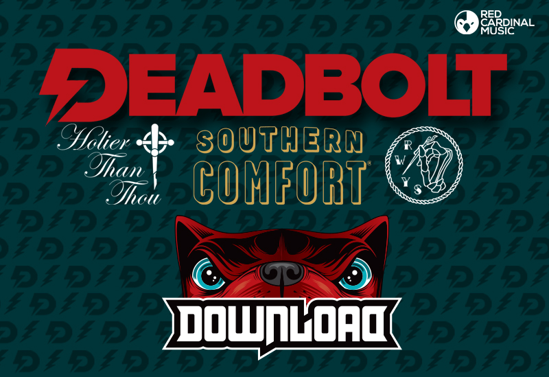 Deadbolt Manchester - Win Download Festival Tickets, Tattoos, Piercings and Clothing - Red Cardinal Music