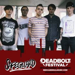 Deadbolt Festival 2017 Competition Winners - Safeguard - Red Cardinal Music