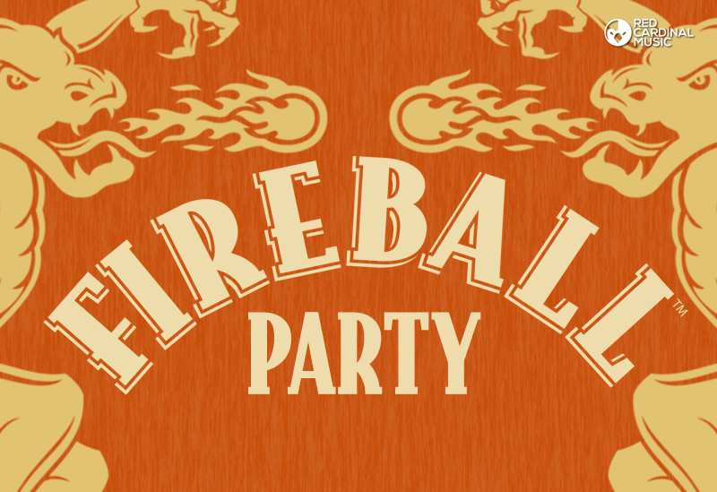 Fireball Party - Zombie Shack - Manchester Freshers - Red Cardinal Music