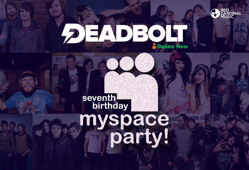 Deadbolt Myspace Party - Red Cardinal Music