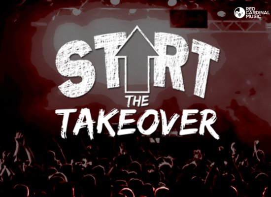 Start The Takeover - Manchester - Red Cardinal Music