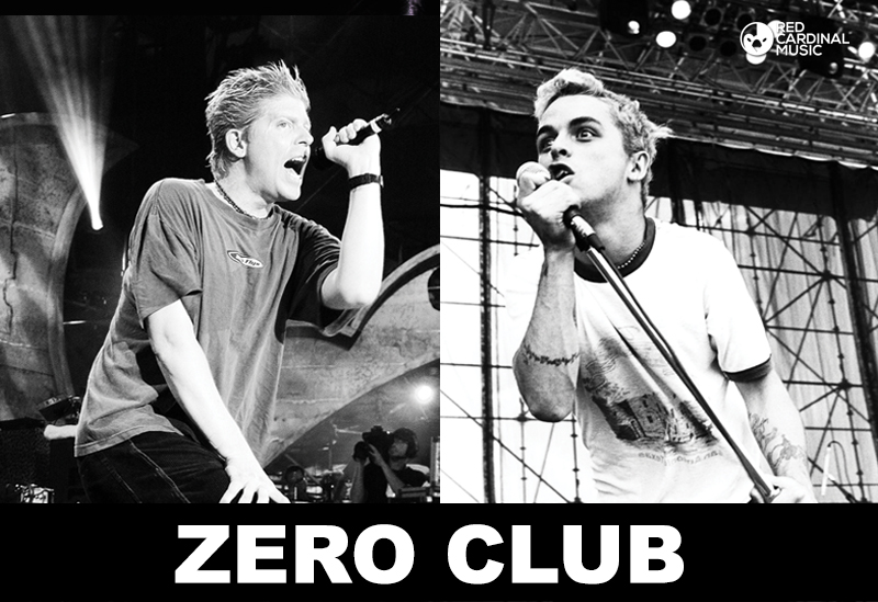 Zero Club Offspring vs Green Day Special - Red Cardinal Music - Zombie Shack