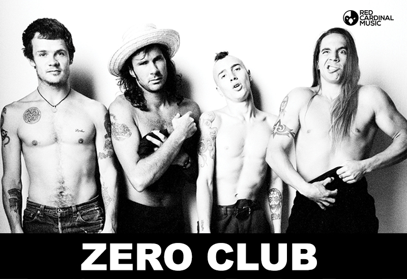 Zero Club Red Hot Chili Peppers Special - Red Cardinal Music