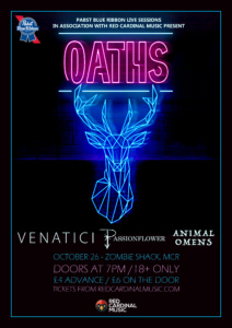 Oaths - Zombie Shack Manchester - Oct 26 - Red Cardinal Music