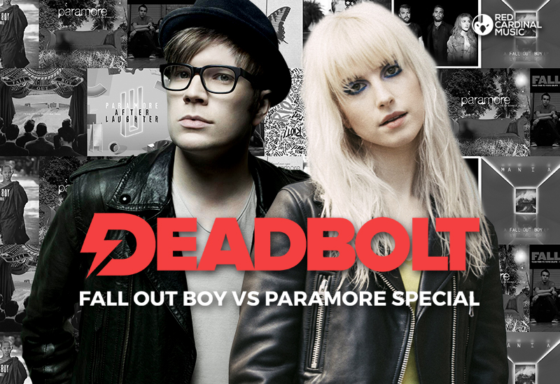 Deadbolt Fall Out Boy vs Paramore Special - Liverpool - Red Cardinal Music