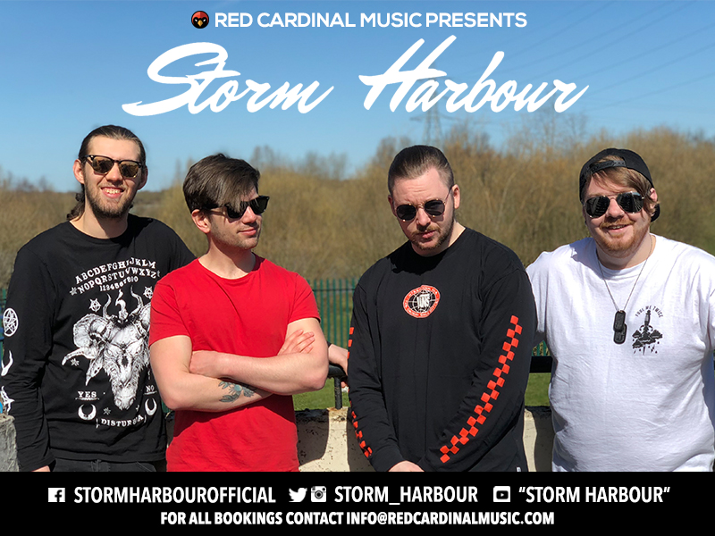 Storm Harbour - Red Cardinal Music Announcement