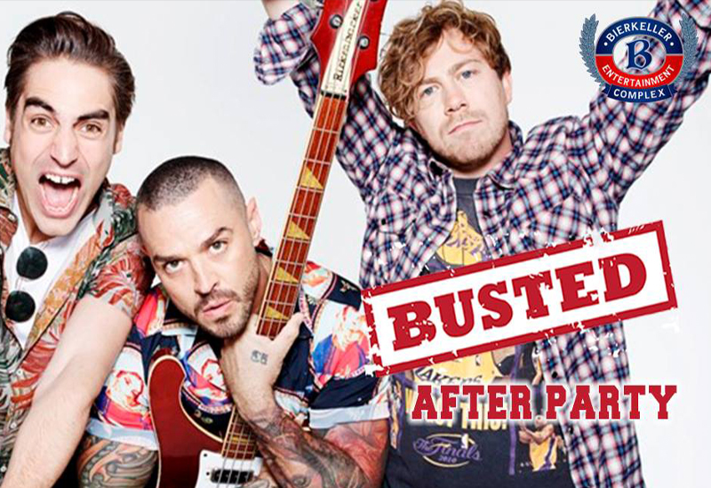 Busted Afterparty - Bierkieller Manchester - Red Cardinal Music