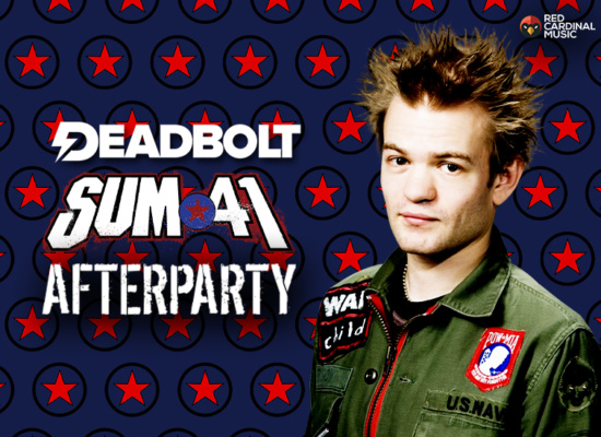 Deadbolt Manchester - Sum 41 After Party - Night People - 26 Jun 19 - Red Cardinal Music