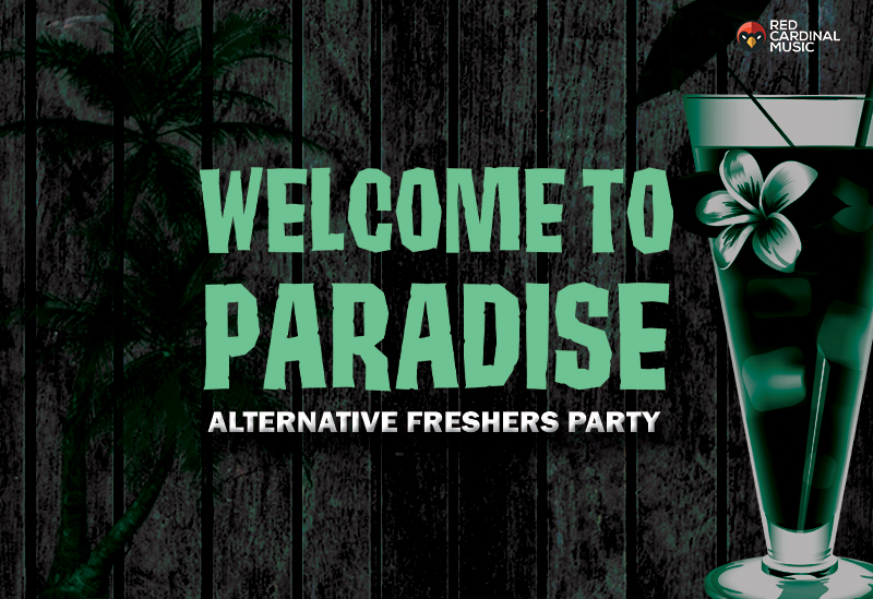 Deadbolt Welcome To Paradise - Alternative Freshers 2019 - Red Cardinal Music