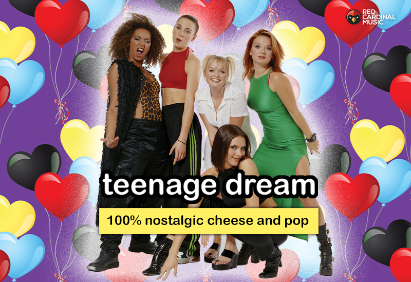 Teenage Dream - Freshers Party - The Font - September 2019 - Red Cardinal Music