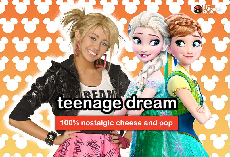 Teenage Dream - November 2019 - Disney Special - Red Cardinal Music