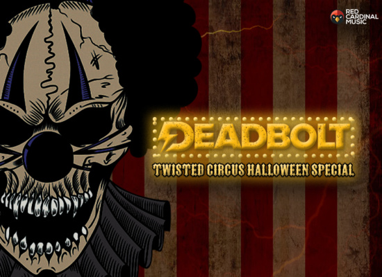 Deadbolt Manchester Alternative Halloween 2019 with Hot Milk- Red Cardinal Music